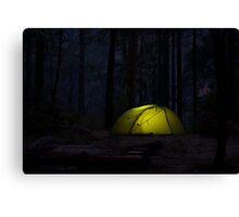 Dusky Tent Canvas Print