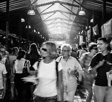 Melbourne Night Market  by Megan Gardner