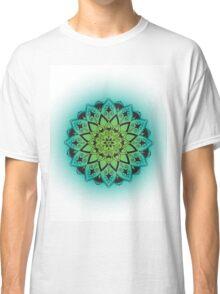 Mandala - Blue/Green Classic T-Shirt