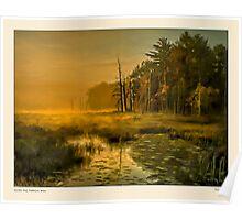 Golden mist, Dambrasca Maine Poster