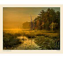 Golden mist, Dambrasca Maine Photographic Print