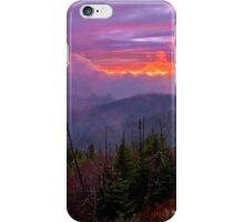 Clingman's Dome Sunset iPhone Case/Skin