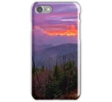 Clingman's Dome Sunset iPhone Case/Skin