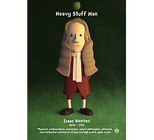 Isaac Newton - Heavy Stuff Man Photographic Print