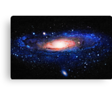 Space galaxy art Canvas Print
