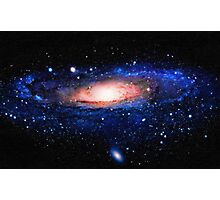 Space galaxy art Photographic Print