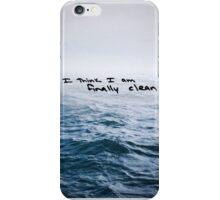"Faded Ocean - Taylor Swift ""Clean"" Lyrics iPhone Case/Skin"
