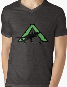 ARK: DINO RIDER Mens V-Neck T-Shirt