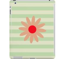 Flowers, Blossoms, Blooms, Petals - Brown Red iPad Case/Skin