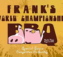 Frank's World Championship BBQ by Sebastian Sindermann