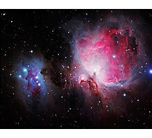 Space M42  Great Orion Nebula  Ghost Nebula Photographic Print