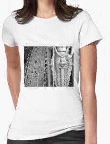 Bantu Caves Womens Fitted T-Shirt