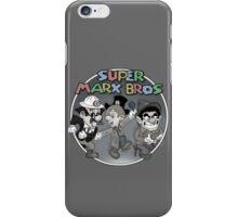 Super Marx Bros  iPhone Case/Skin