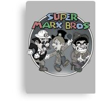 Super Marx Bros  Canvas Print
