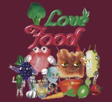 I Love food  by Valxart