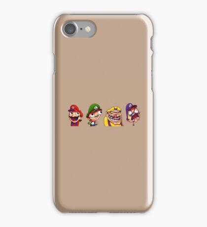 Mario, Luigi, Wario & Waluigi iPhone Case/Skin