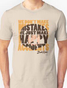 "Bob Ross ""Happy Accidents"" T-Shirt"