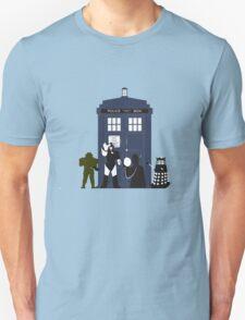 Doctor Who Villians  T-Shirt