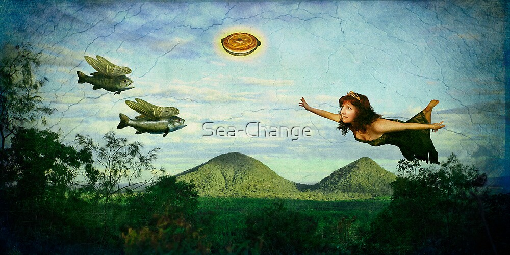 I wish I could fly...(Image and Verse) by Sea-Change