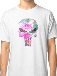 Bright Punisher Skull Classic T-Shirt