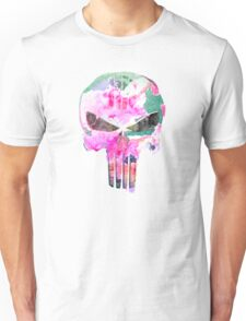 Bright Punisher Skull Unisex T-Shirt