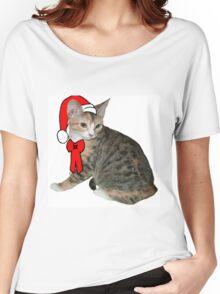 Santa Cat Women's Relaxed Fit T-Shirt
