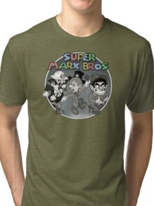 Super Marx Bros  Tri-blend T-Shirt