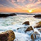 """""""Turbulence"""" Avalon Beach by Andrew Kerr"""