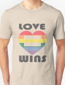 Love Wins Equality funny nerd geek geeky T-Shirt