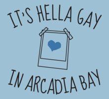 It's hella gay in Arcadia Bay Kids Tee