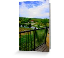 Vineyard Summer Greeting Card