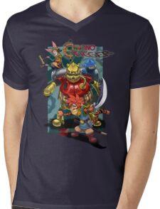 Chrono Tigger Mens V-Neck T-Shirt