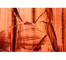 Canyon Wall Photographic Print