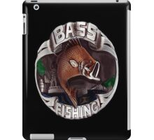 <º))))><     BASS FISHING IPAD CASE <º))))><     iPad Case/Skin