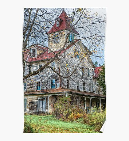 ** OLD HOUSE ON THE HILL ** Poster