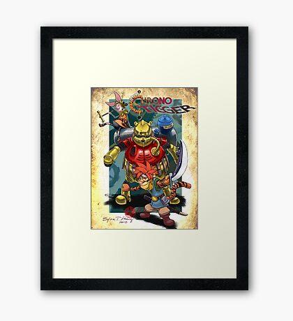 Chrono Tigger Framed Print