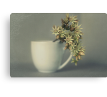 One cup of flower..... Canvas Print