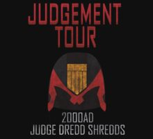 Judge Dredd Shredds by Tortoise