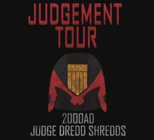 Judge Dredd Shredds One Piece - Short Sleeve
