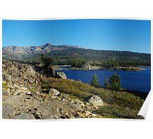 Loon Lake impression, California Poster