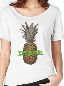 Psych Pineapple Women's Relaxed Fit T-Shirt