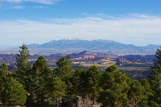 From Highway 12, Utah by Claudio Del Luongo