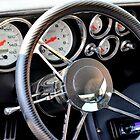 1970 Dodge Challenger Interior by Maria P Urso