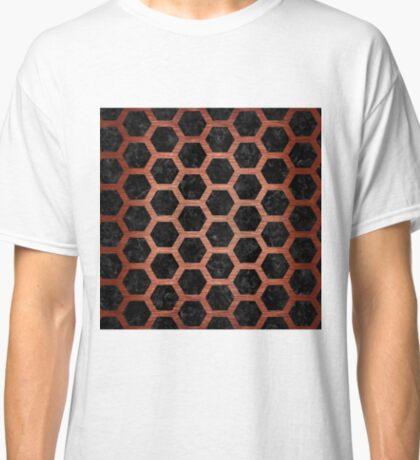 HXG2 BK MARBLE COPPER Classic T-Shirt