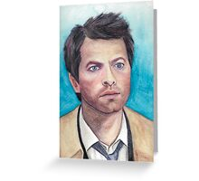 Castiel Greeting Card