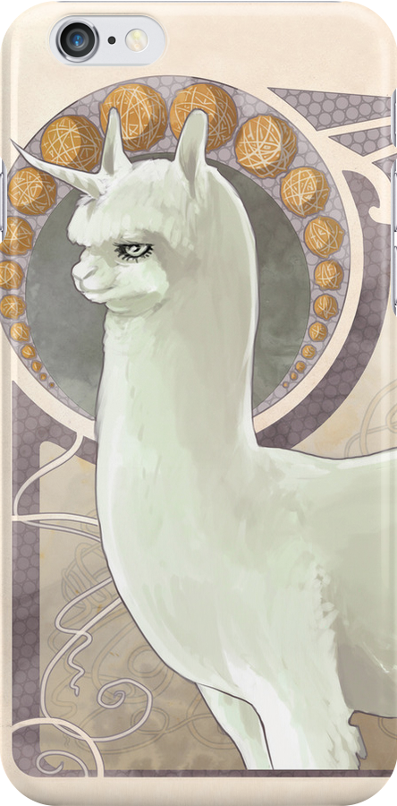The Noble Alpacacorn by shakusaurus