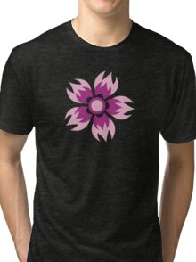 Flowers, Blossoms, Blooms, Petals - Purple Tri-blend T-Shirt