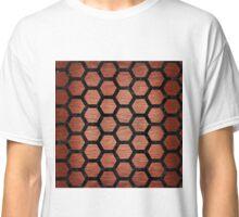 HXG2 BK MARBLE COPPER (R) Classic T-Shirt