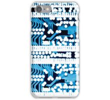 Abstract circuit board iPhone Case/Skin