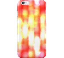 Blurred lights iPhone Case/Skin